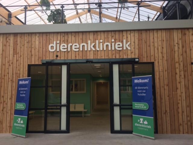 Dierenkliniek nabij Eindhoven